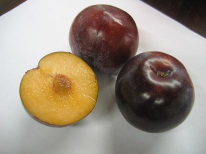 black plums black clour plums with light colour flesh